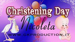 Battesimo di Nicoleta