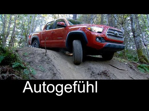 2016 Toyota Tacoma pickup truck preview with offroad showcase - Autogefühl