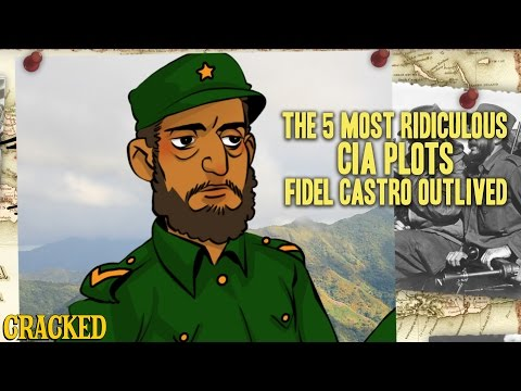 The 5 Most Ridiculous CIA Plots Fidel Castro Outlived