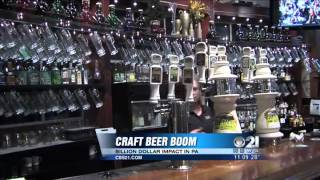 Craft beer brewing is flourishing in PA