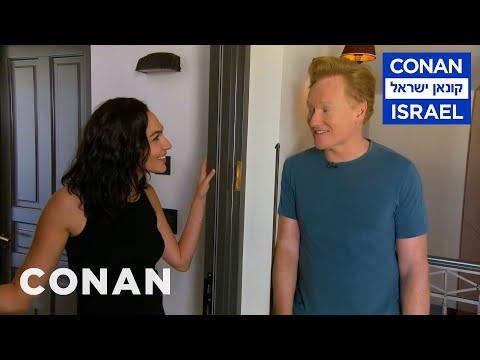 Conan v Izraeli #3: Výslech a návštěva izraelské celebrity - CONAN