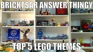 BAT What are your favorite LEGO themes? TOP 5