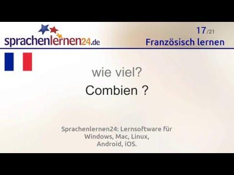 Französisch lernen (kostenloses Sprachkurs-Video)