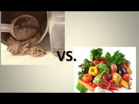 Protein From Food vs. Protein Powder