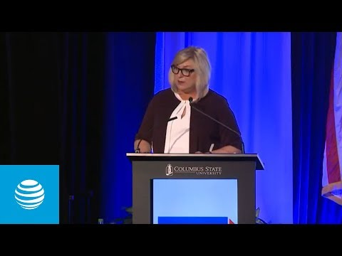 Lori Lee Speaks at the Jim Blanchard Leadership Forum 2018 - AT&T-youtubevideotext