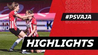 PSV Vrouwen ten koste van Ajax naar BEKERFINALE! ?   HIGHLIGHTS PSV Vrouwen - Ajax Vrouwen
