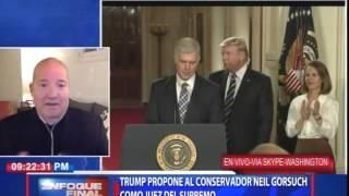 Willy Lora, analista político opina sobre medidas migratorias de Donald Trump