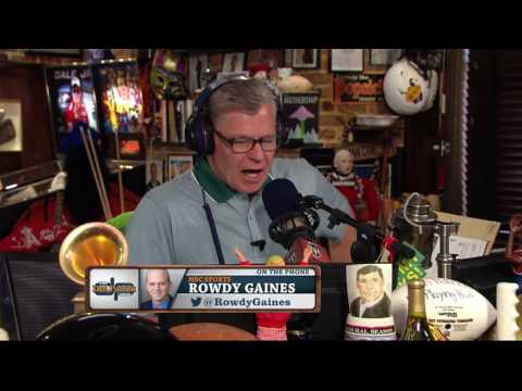 Rowdy Gaines on The Dan Patrick Show (Full Interview) 6/30/16
