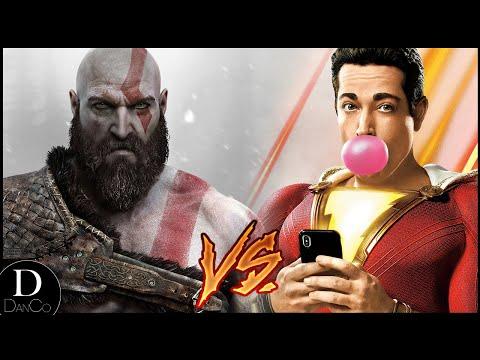 Shazam VS Kratos | BATTLE ARENA