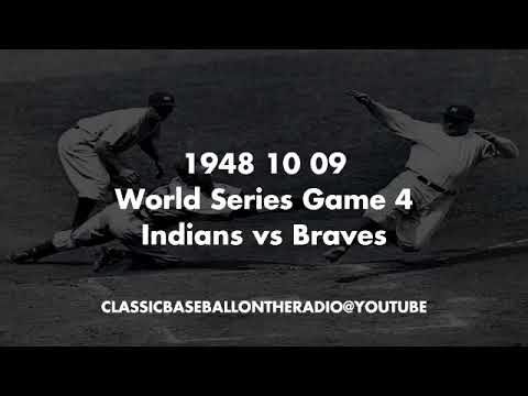 1948 10 09 World Series Game 4 Indians at Braves