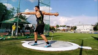 Ludvik Danek Memorial 2018 - Discus Throw