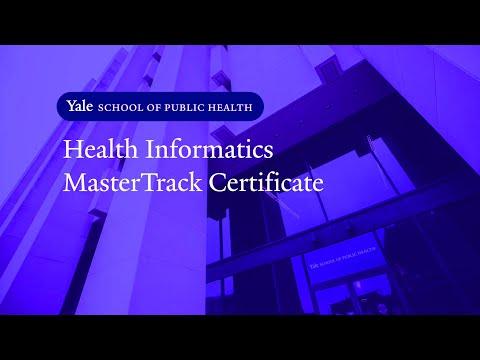 Health Informatics MasterTrack Certificate
