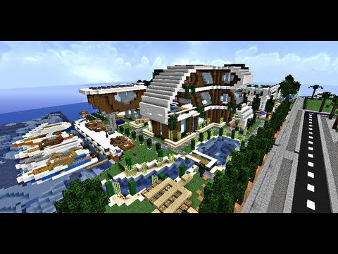 Modern house ! #2 Minecraft Project