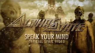 Alphastate – Speak Your Mind