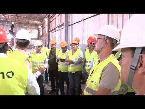 Autoridades e representantes da sociedade conhecem Terminal Ferroviário de Rondonópolis