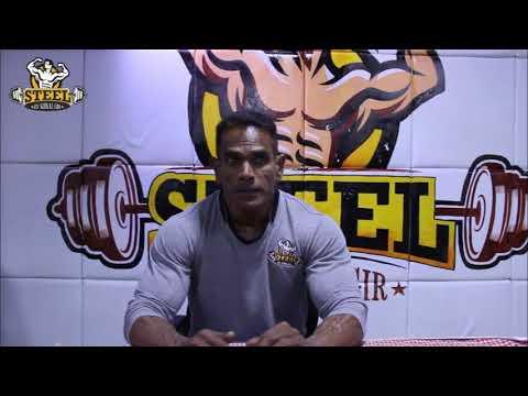 A.K .Rari Inteview at Steel Gym
