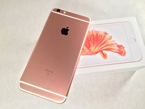 iPhone 6s Plus Rose Gold Unboxing!