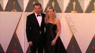 Титаник, Oscars: Kate Winslet & Leonardo DiCaprio Red Carpet (2016)