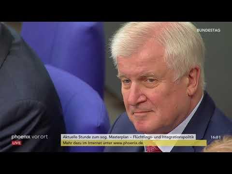 Bundestag: Aktuelle Stunde zum Masterplan \