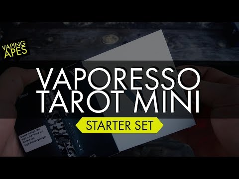 YouTube Video zu Vaporesso Tarot mini Kit mit Veco Verdampfer 80 Watt 2 ml