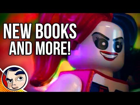 LEGO Dc Super Villains Trailer! Bendis Superman Starts! Robin Quits? New Comics & More! #NCBD