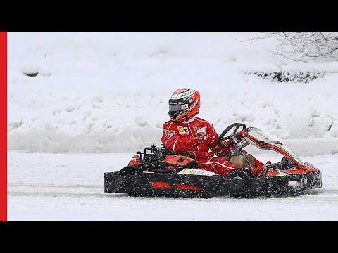 Kimi in Drone Race | Shell #Motorsport