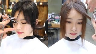 Easy Cute Korean Haircuts 2019 😂 Amazing Hairstyles  Transformation Compilation 😂 Hair Beauty