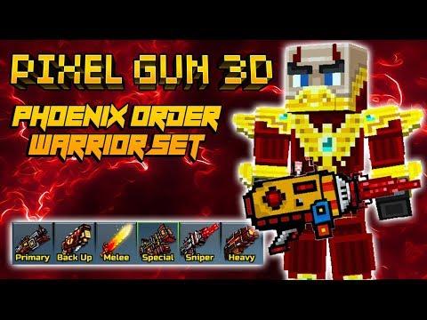 Pixel Gun 3D - Phoenix Order Warrior Set