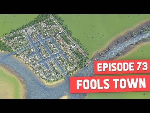 CREATING VENICE CANALS - Cities Skylines #73