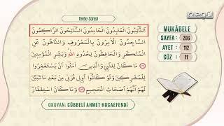 Cübbeli Ahmet Hocaefendi ile Mukâbele 11. Cüz