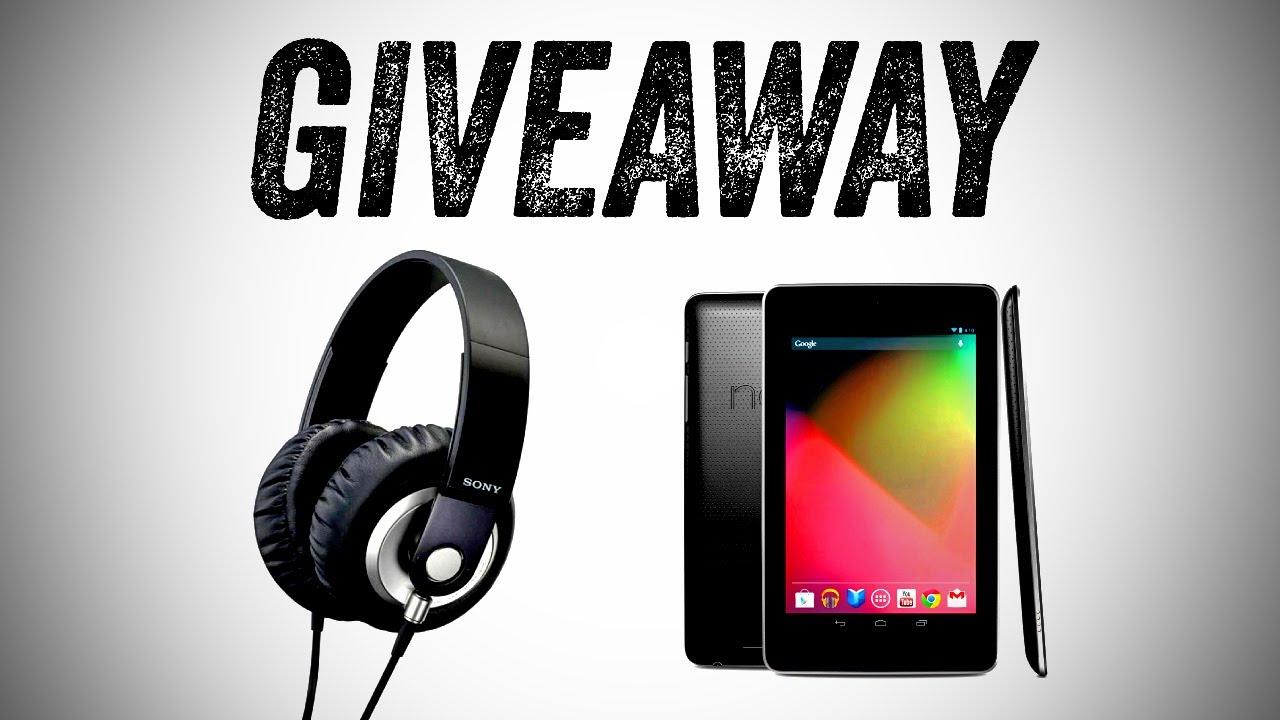 Nexus 7 Giveaway! (+ Sony XB500 Headphones) thumbnail