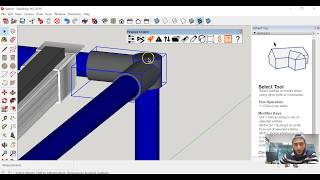 How to use the Toggle Alternative icon with Sketchup | Flexpipe