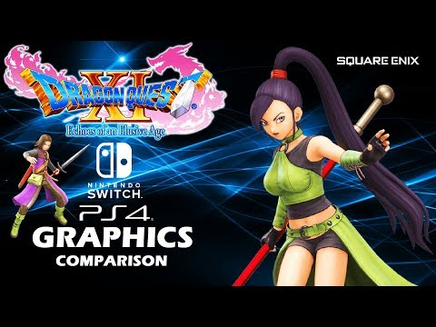 Dragon Quest XI S Nintendo Switch vs PS4 Graphics Comparison