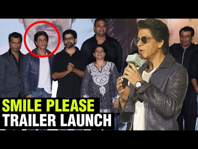 Shahrukh Khan AWESOME SPEECH At Smile Please Trailer and Music Launch | Marathi Movie