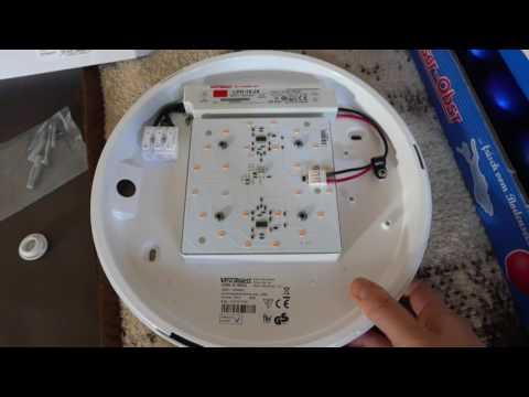Visolight D280 LED Wand- & Deckenleuchte (3000K / 1900L / 21W)