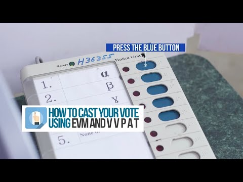 Watch: How To Cast Your Vote Using EVM And VVPAT