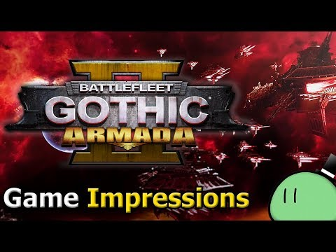 Battlefleet Gothic: Armada 2 (Game Impressions) video thumbnail