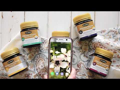 Flora, 麦卢卡蜂蜜混合,MGO 30+,17.6 盎司(500 克)