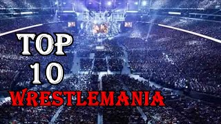 Top 10 WWE Largest Wrestlemania Attendance Record/Crowds as of 2016