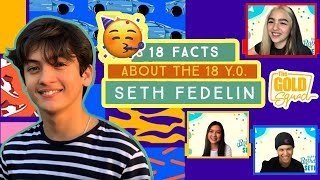 Makisaya kasama ang The Gold Squad sa birthday vlog ni Seth Fedelin! Get to know more about the 18-year-old Kapamilya actor, as 18 FUN facts about him are revealed!  Subscribe to the The Gold Squad channel! - http://bit.ly/TheGoldSquad