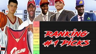 Ranking Every NBA First Overall Pick Since 2000...