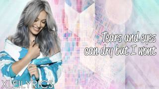 Hilary Duff  - Tattoo (Acoustic) (Lyrics Video) HD