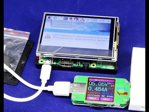 Ecran LCD tactile 3 5 pouces et boitier plastique pour Raspberry Pi