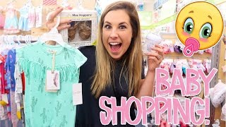SHOPPING FOR BABY GIRL!