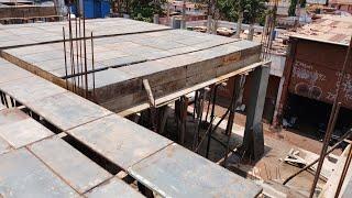 Form work for slab and beam design