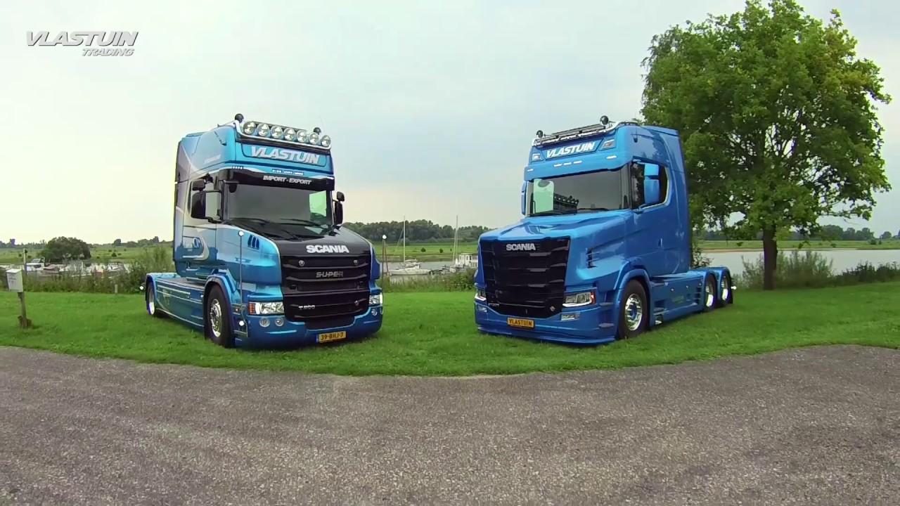Scania T500 & S730T van Vlastuin Trading Renswoude