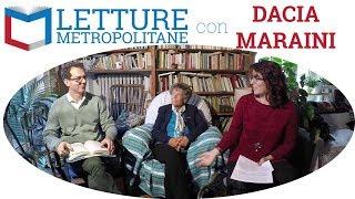 """Dacia Maraini, conversazione sul suo romanzo """"Tre donne"""", Rizzoli 2017"""