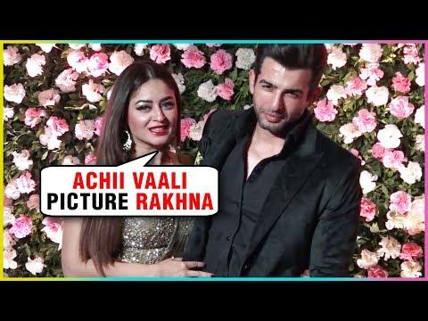 Jay Bhanushali And Mahhi Vij At Kapil Sharma And G