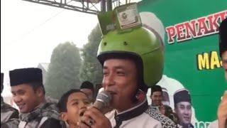 Mat Tumbuk Lucu Pakai Hlem Tong Gas Sambil Sholawatan Majelis Pemuda Bersholawat At-taufiq