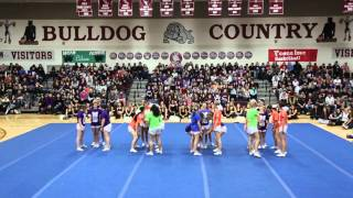 The Magnolia High School Spring Sports Pep Rally Magnolia, TX (Cheer)  Do Over